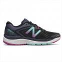 New Balance 860 v8 Womens B WIDTH STANDARD Road Running Shoes Black/Poisonberry/Thunder
