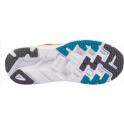 Hoka Clifton 4 Mens Road Running Shoes Castlerock/Atomic Blue