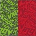 Inov8 Wrag 30g Multi-functional Headwear Green/Red