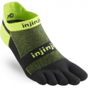 Injinji Socks Run Lightweight No Show Unisex Running Toe Socks Grasshopper