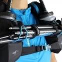 Raidlight Ultra Legend 12L Running Hydration Vest & Bag Black/Electric Blue