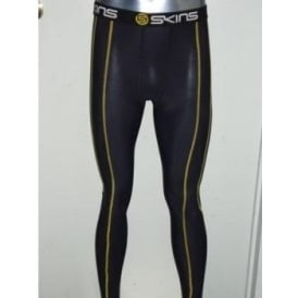 Skins Mens Long Compression Tights Black
