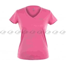 Odlo Lucca Women's Short Sleeve V-Neck Running T-Shirt