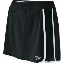 Brooks Epiphany Stretch Running Short II Black Women's