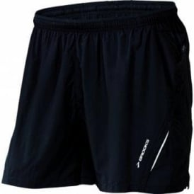 Brooks Infiniti Notch Running Short Black Mens