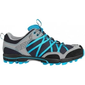Inov8 Roclite 268 Grey/Blue Trail Running and Walking Shoes Womens
