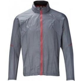 Ronhill Trail Microlight Jacket Slate/Red Jalapeno Mens