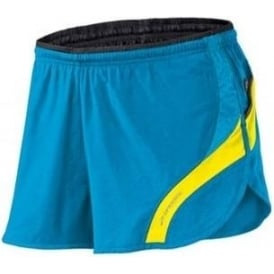 Brooks Infiniti Running Short III Atlantic/Sulphur Mens