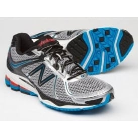 New Balance 880 V2 Road Running Shoes White/Blue Mens