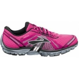 Brooks Pure Cadence Minimalist Road Running Shoes Knockout Pink/PinkGlo Women's
