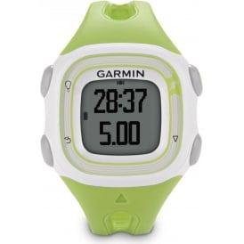 Garmin Forerunner 10 GPS Watch Green/White