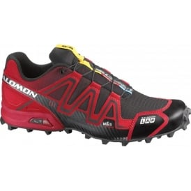 Salomon S-Lab Fellcross Fell Running Shoes Red/Black Mens