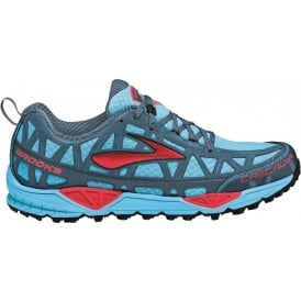 Brooks Cascadia 8 Trail Running Shoes Aquarius/Hibiscus/BearingSea/Black Women's