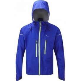 Ronhill Trail Tempest Waterproof Running Jacket Cobalt/Kiwi Mens