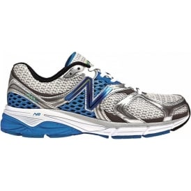 New Balance 940 V2 Road Running Shoes White/Blue Mens (D WIDTH - STANDARD)