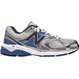 New Balance 940 V2 Road Running Shoes White/Blue Women's (B WIDTH - STANDARD)