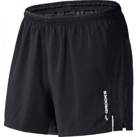 "Brooks 5"" Essential Run Running Short Mens Black"