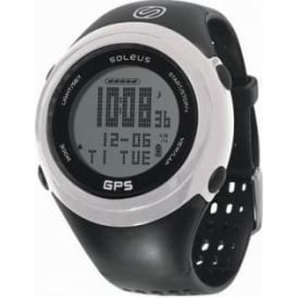 Soleus 1.0 Fit GPS Running Watch Black/White