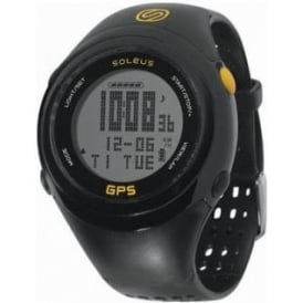 Soleus 1.0 Fit GPS Running Watch Black/Yellow