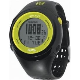 Soleus 1.0 Fit GPS Running Watch Black/Lime Green