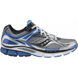 Saucony Stabil CS3 Running Shoes Silver/Black/Blue Mens