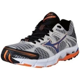 Mizuno Wave Alchemy 12 Road Running Shoes Silver/AutumnGlory/Anthracite Mens