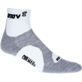 Inov8 Racesoc Mid White/Grey (Twin Pack)