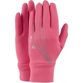 Ronhill Flash Glove Fluo Pink/Reflect Women's
