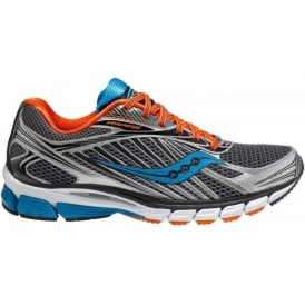 Saucony Ride 6 Road Running Shoes Grey/Orange/Blue Mens