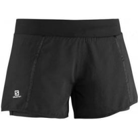 Salomon Park 2 in 1 Shorts Black Womens