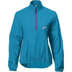 Inov8 Race Elite 60 Windshell Running Smock Turquoise/Purple Womens