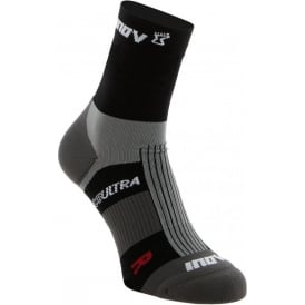 Inov8 Race Ultra Sock High Twin Pack Black/White