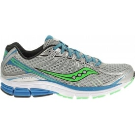 Saucony Jazz 17 Road Running Shoes Grey/Blue/Green Mens