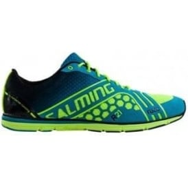 Salming Race Shoe Cyan/Yellow Mens