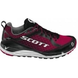 Scott Kinabalu T2 HS Trail Running Shoes Black/Cayenne Red Womens
