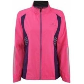 Ronhill Vizion Windlite Jacket Fluo Pink/Wildberry Womens