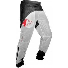 Raidlight Ultralight Waterpoof Pant White/Dark Grey Mens