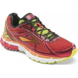 Brooks Adrenaline GTS 15 Running Shoes HighRiskRed/Satsuma/Nightlife Kids