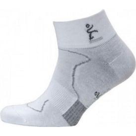Balega Minimal Runner Pro Pacer 2 Running Socks White/Grey