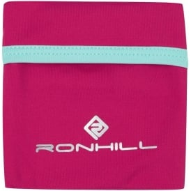 Ronhill Stretch Wrist Pocket Cerise/Aquamarine
