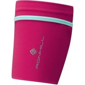 Ronhill Stretch Arm Pocket Cerise/Aquamarine