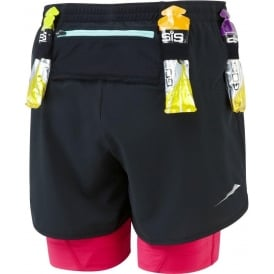 Ronhill Trail Fuel Twin Short Black/Cerise Womens