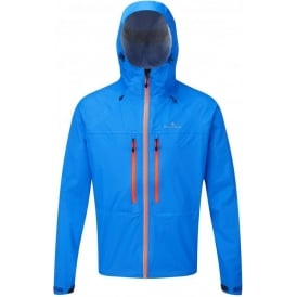 Ronhill Trail Tempest Waterproof Running Jacket Electric Blue/Orange Mens