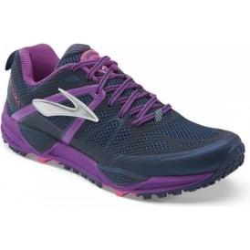 Brooks Cascadia 10 Trail Running Shoes Midnight/PurpleCactusFlower (B WIDTH - STANDARD) Womens