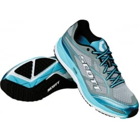 Scott AF+ Support Road Running Shoes Grey/Blue Womens
