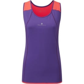Ronhill Trail Cargo Tank Royal Purple/Hot Coral Womens