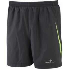 "Ronhill Advance 5"" Short Black/Gecko Mens"
