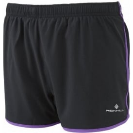 Ronhill Trail Cargo Short Black/Royal Purple Womens