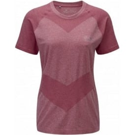 Ronhill Aspiration Cool-Knit Short Sleeve Tee Cerise Womens