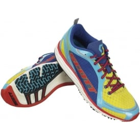 Scott Race Rocker Racing Shoes Yellow/Blue Mens